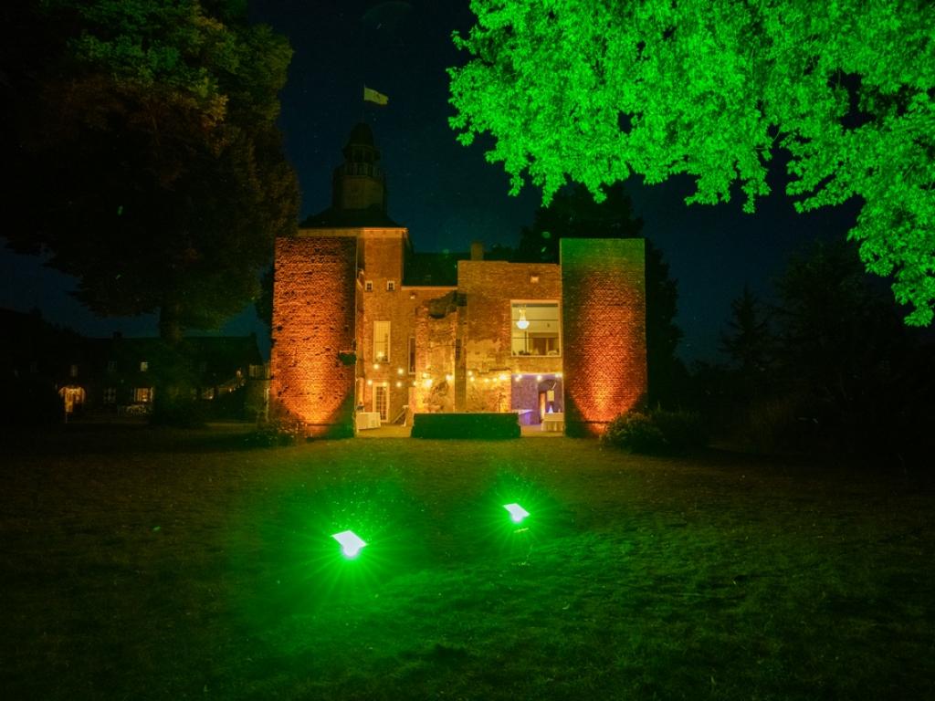 Outdoor Beleuchting in Schloss Hertefeld Weeze