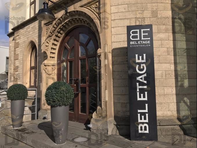 Eingang zum Schokoladenmuseum Bel Etage Köln