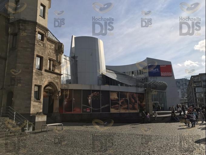 Aussenansicht Schokoladenmuseum Bel Etage Köln