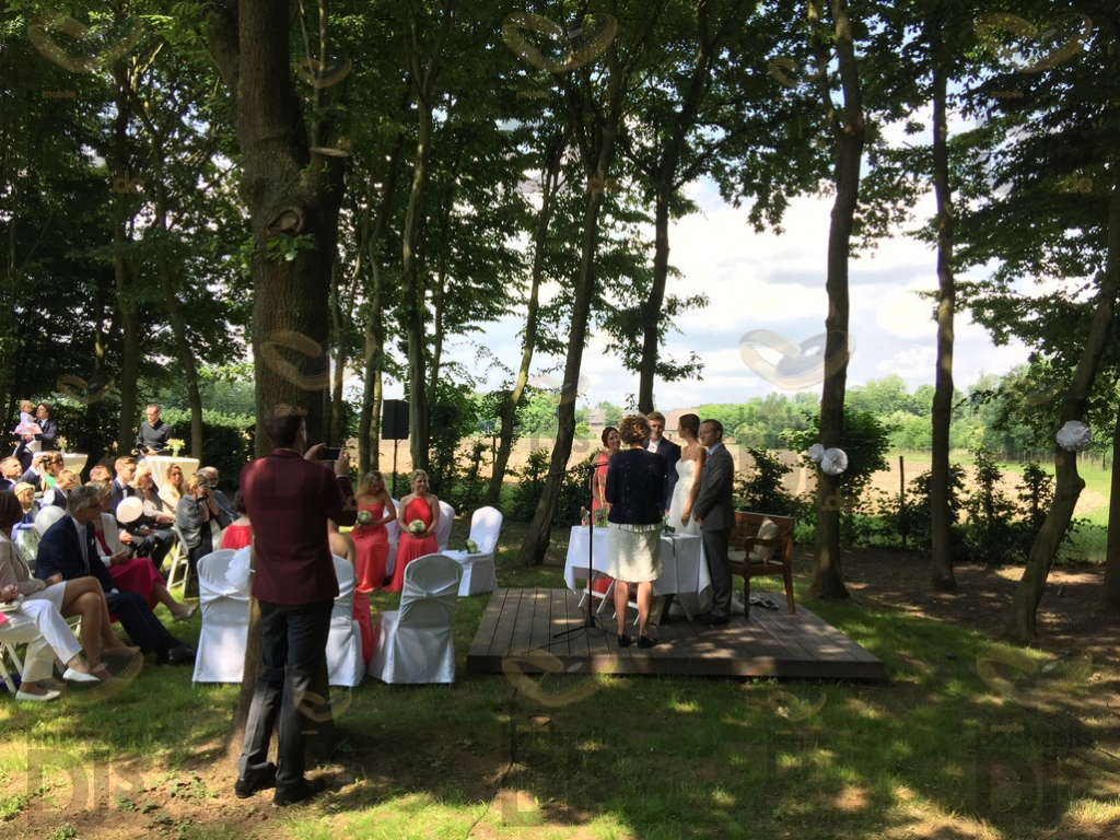 freie Trauung im Dycker Weinhaus